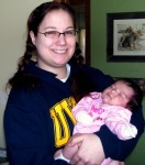 me & baby paige
